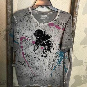 PRPS goods & Co Cherub t shirt L EUC